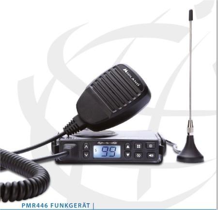 El Midland GB1 es semejante a los transceptores de CB en UHF