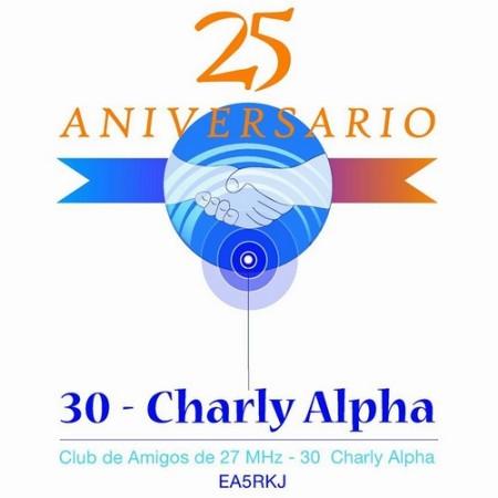 Club de Amigos de 27 MHz - 30 Charly Alpha, 25 años