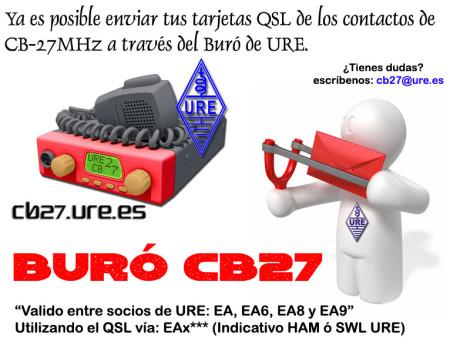 Servicio buró CB27 de URE