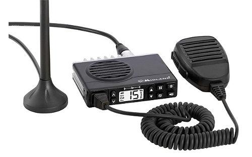 Midland MXT100, el hermano americano del GB1 con más canales y más potencia.