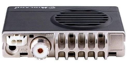 El MXT100 incorporaconector PL para el cable de antena.