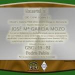 Memorial a José María (Chema), Estación CEBRA 3. CBVozIP 2016