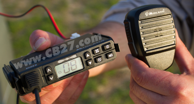 La Midland GB1 es la primera emisora PMR446 para Europa.