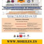 Jornada sobre telecomunicaciones de emergencias.
