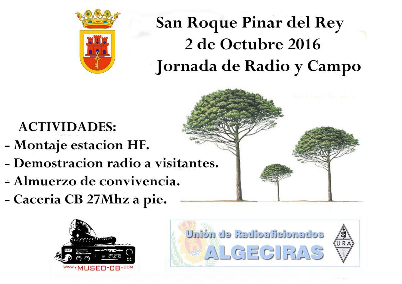 Campo y radio en San Roque (Cádiz)