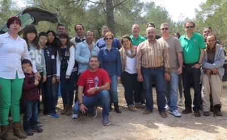 Amigos de Ibiza, reunidos en torno a la Banda Ciudadana.