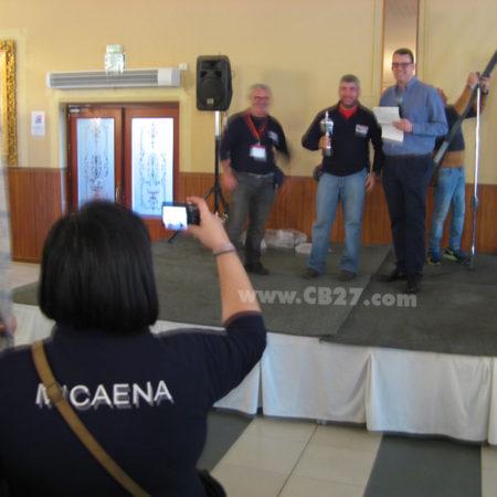 HamRadio Show 7.0, entrega de premios Caza del Zorro Radiaficionados Los Alcores