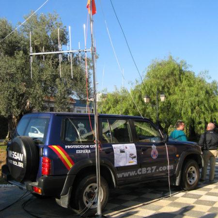 HamRadio Show 7.0. Vehículo de transmisiones de Protección Civil.