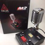 Micrófono dinámico Delta Electronics M2 Chrome para estación base