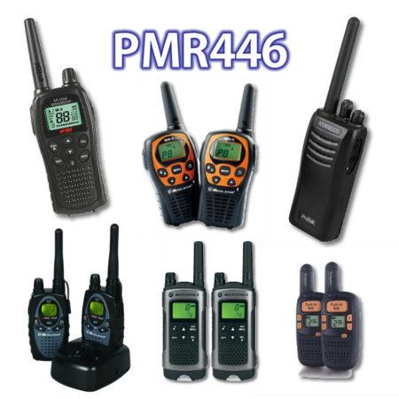 Radios portátiles para PMR446