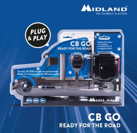 "CB GO, un kit ""plug-and-play"" creado por Midland"