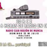 6 horas de radio en CB desde Murcia
