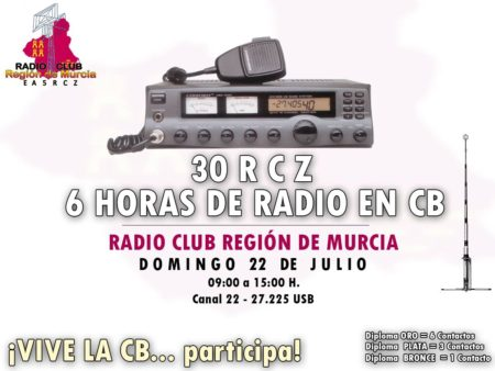 30RCZ, 6 horas de radio en Banda Ciudadana