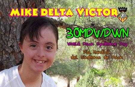 QSL 30MDV/DWN, Día Mundial del Síndrome de Down 2019