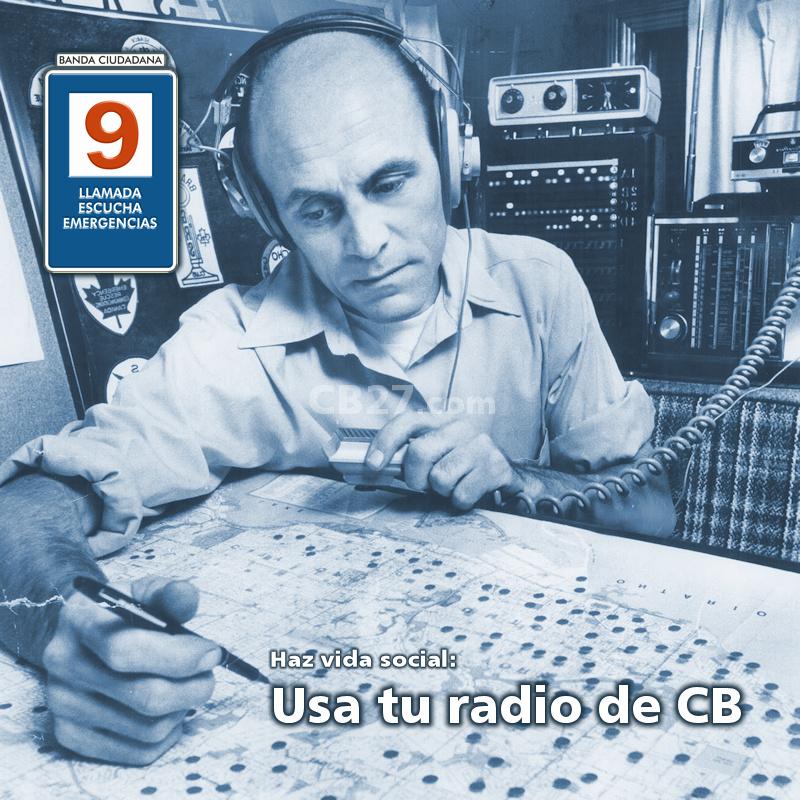 Haz vida social con tu radio de CB