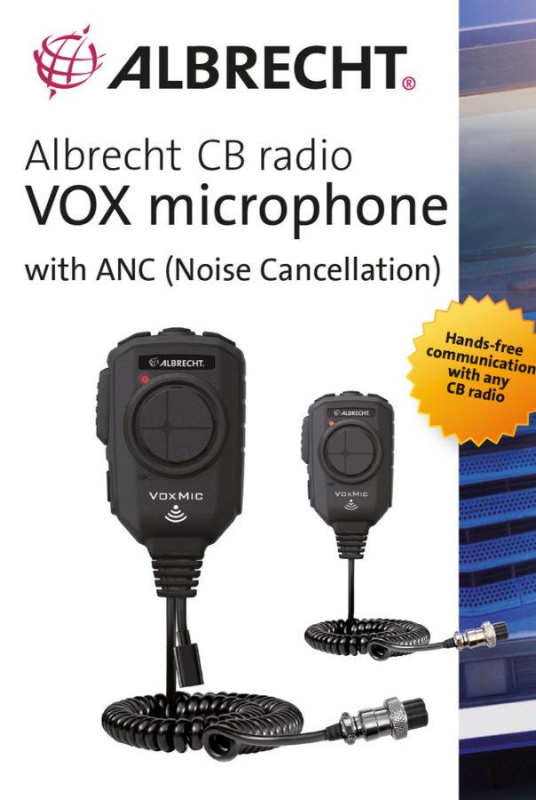 Micrófono con detección de voz, de Albrecht-Midland.