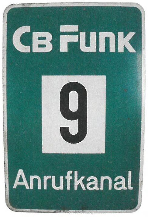 CB Funk 9 Anrufkanal