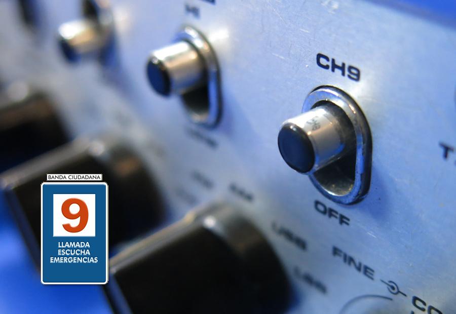 Esta palanca nos da acceso directo al canal 9.