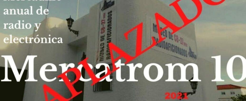 La décima edición de Mercatrom ha sido aplazada.