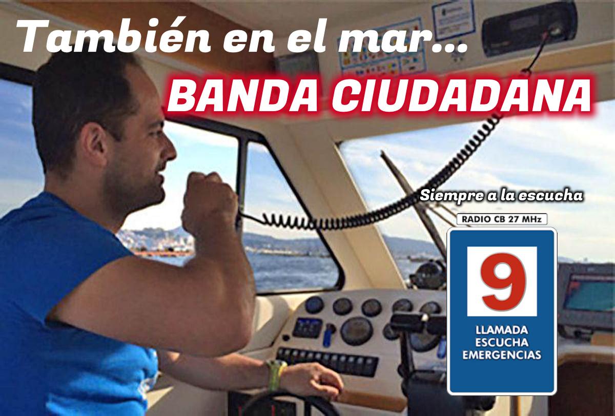 La Banda Ciudadana, también en embarcaciones de recreo.